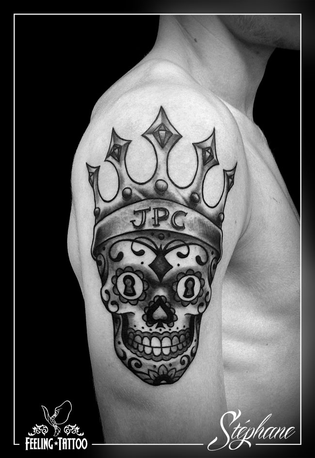 Tatouage king - Tattoo crane mexicain ...
